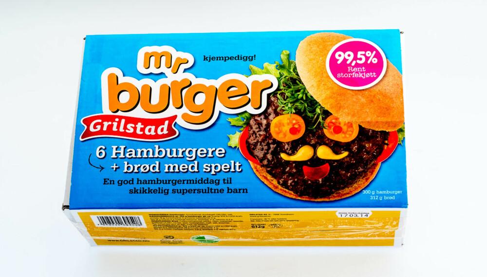 TEST AV HAMBURGERE: Mr. Burger