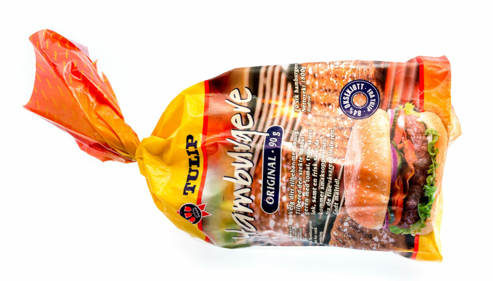 TEST AV HAMBURGERE: Tulip hamburgere