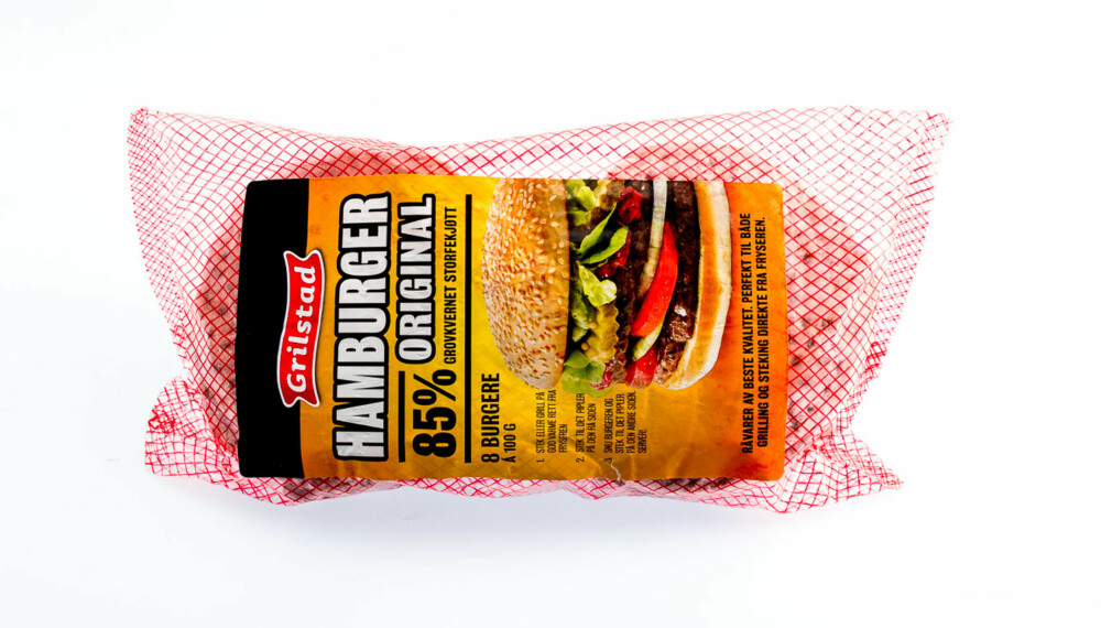 TEST AV HAMBURGERE: Grilstad hamburger original