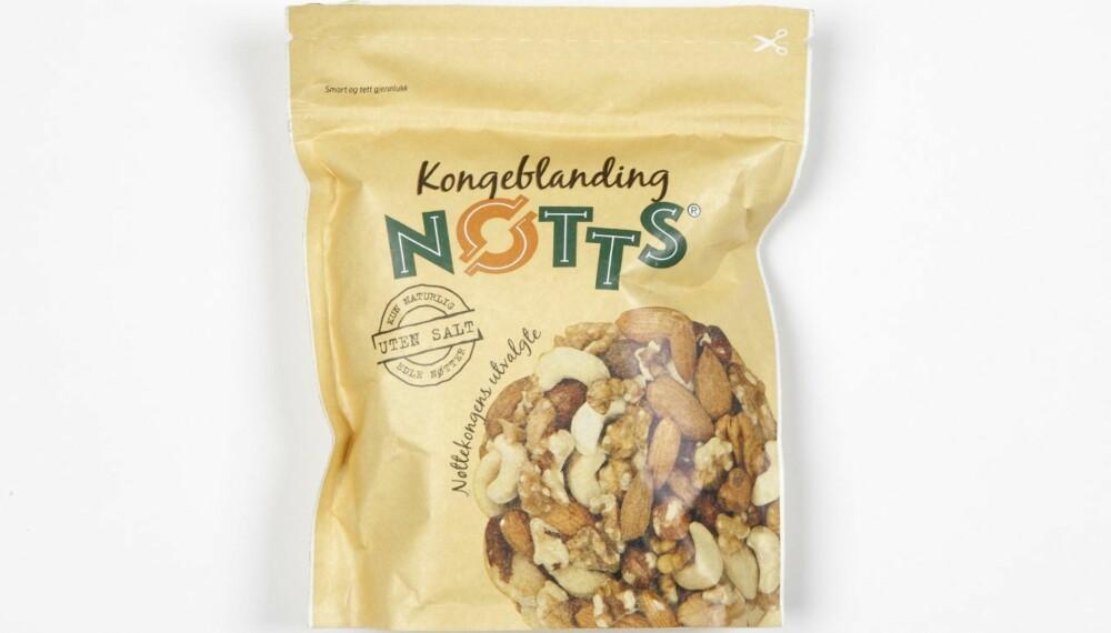 NØTTEBLANDING: DinKost og ShapeUp har vurdert næringsinnholdet i 12 typer nøtteblanding.