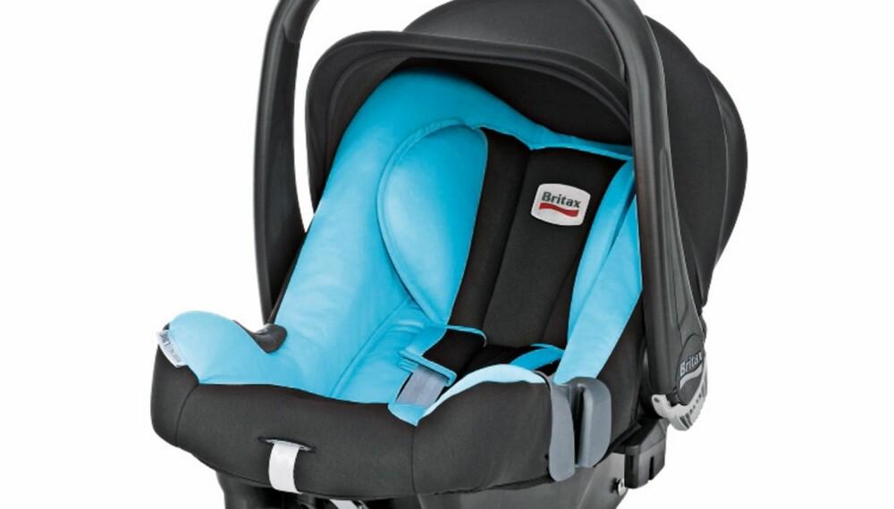 TEST AV BABYSETE: Britax Baby-safe plus SHR