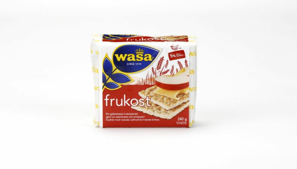 KNEKKEBRØD: Wasa Frukost