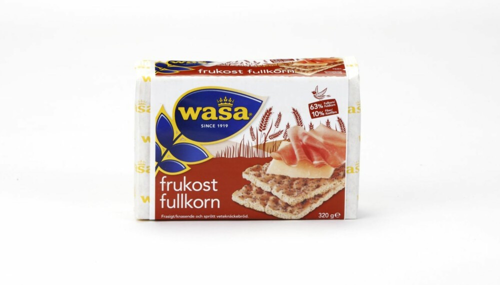 KNEKKEBRØD: Wasa Frukost Fullkorn
