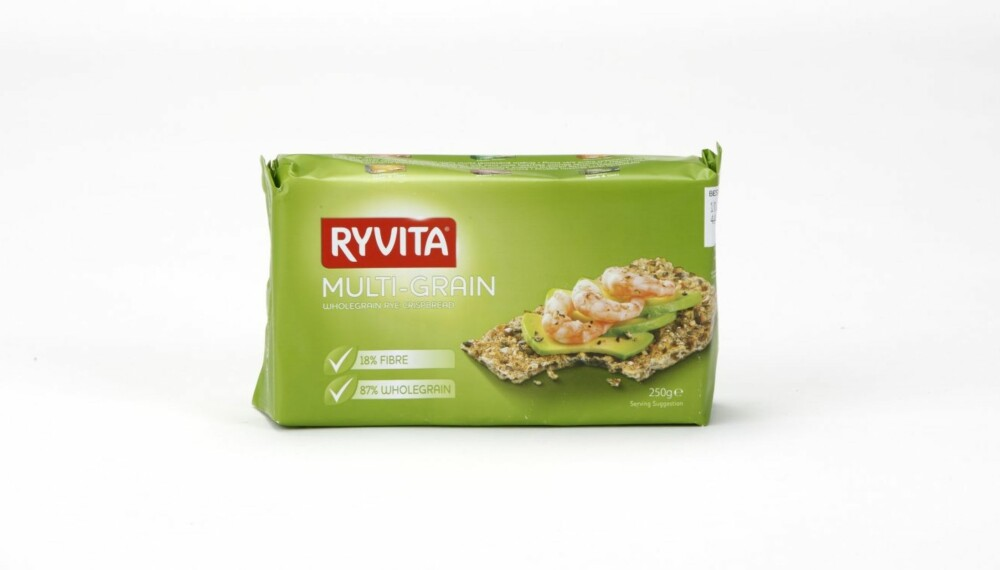 KNEKKEBRØD: Ryvita Multi-Grain