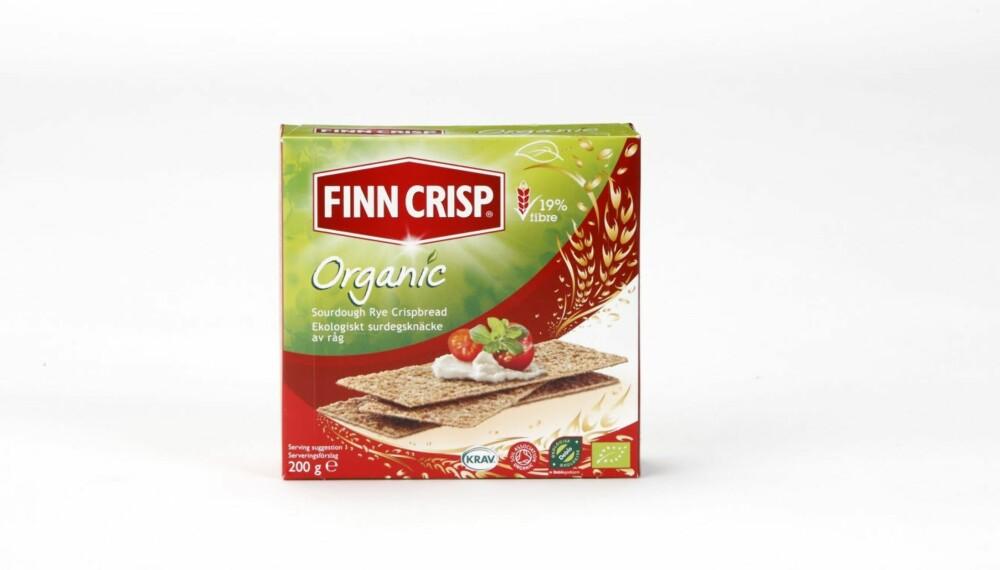 KNEKKEBRØD: Finn Crisp Organic