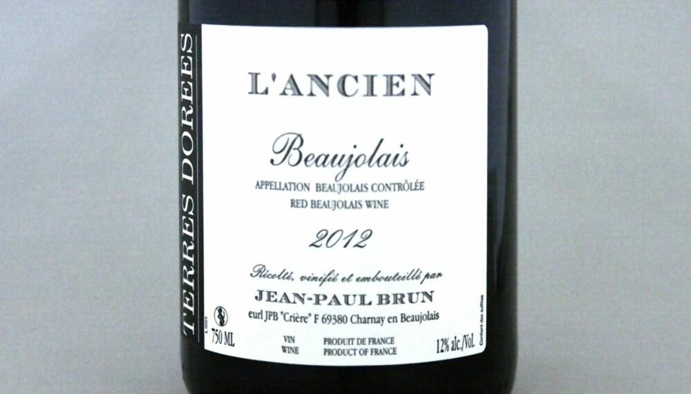 TIL KYLLING: Beaujolais L'Ancien 2012.