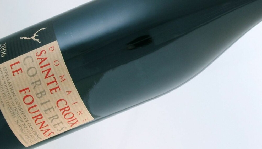 FRA CORBIÈRE: Domaine Sainte Croix le Fournas kommer fra Corbière i Languedoc-Roussillon.