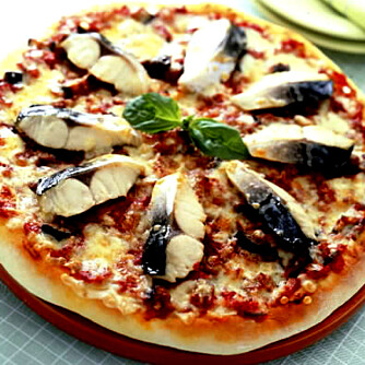 Kanskje du foretrekker makrell på pizzaen? Send oss dine bese tips!