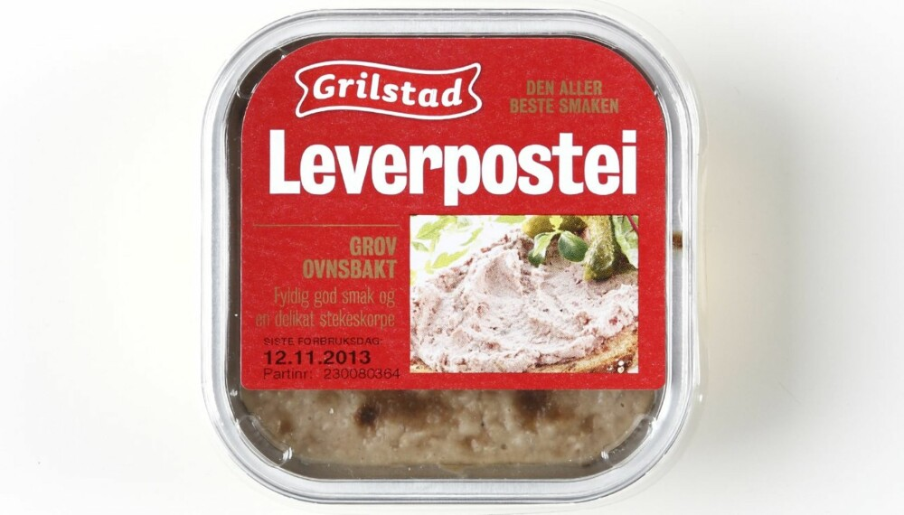 LEVERPOSTEI: Klikk Helse har sjekket næringsinnholdet i 14 typer ovnsbakt leverpostei.