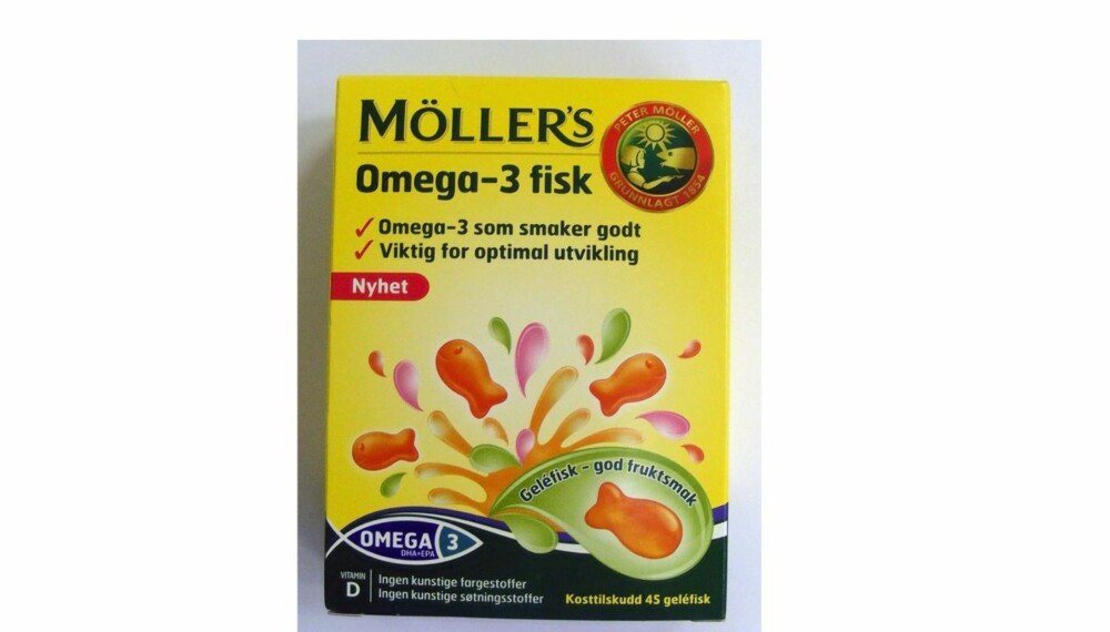 TEST AV OMEGA-3: Møllers Omega-3-fisk