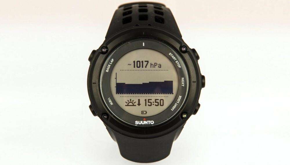 GPS-KLOKKER: Villmarksliv og Klikk.no har testet GPS-klokker - utvilsomt nyttig for alle som ferdes i skog og fjell.