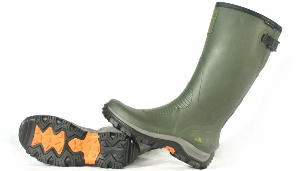GUMMISTØVEL: Klikk Helse og Villmarksliv har testet 14 par gummistøvler for turbruk.