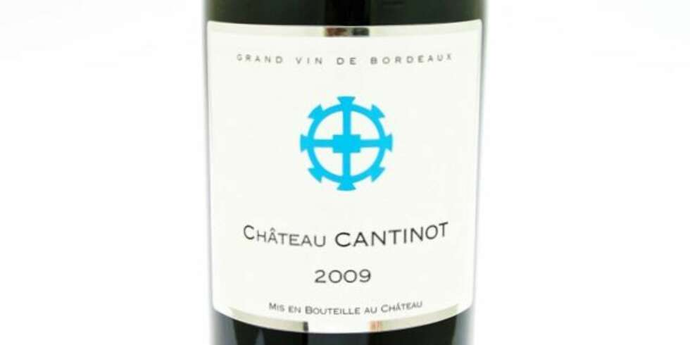 GOD VIN: Ch. Cantinot 2009.