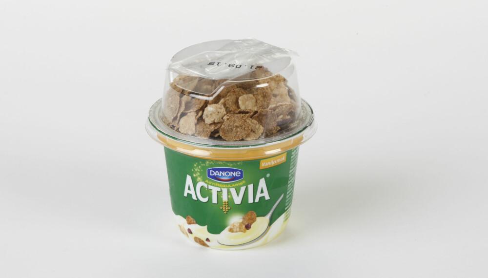 TEST AV MELLOMMÅLTID: Vi har testet næringsinnholdet i 14 mellommåltider med müsli. FOTO: Petter Berg