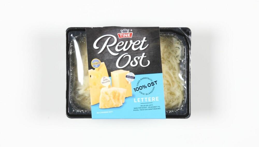 TEST AV REVET OST: Vi har testet næringsinnholdet i revet ost. FOTO: Petter Berg
