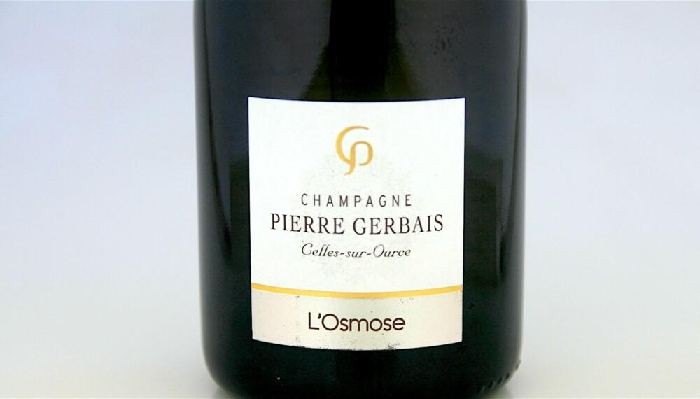 GOD VIN: Pierre Gerbais L'Osmose.