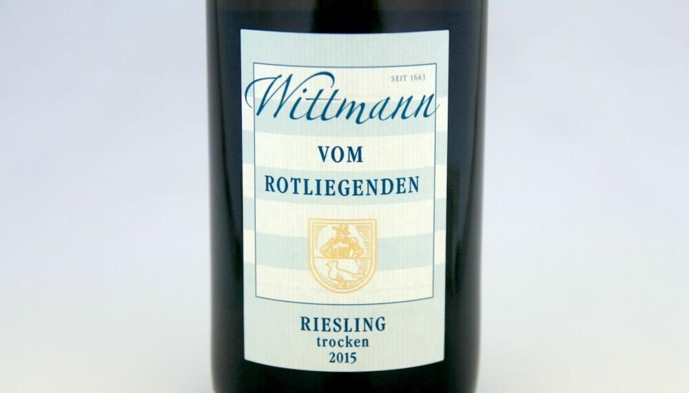 GOD VIN: Wittmann Vom Rotliegenden Riesling Trocken 2015.