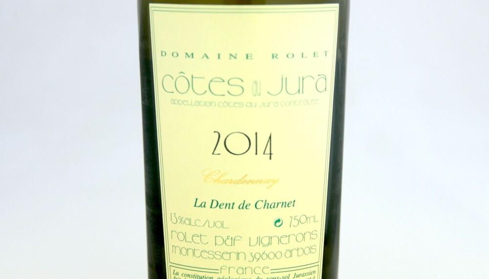 GODT KJØP: Rolet Côtes du Jura La Dent de Charnet Chardonnay 2014.