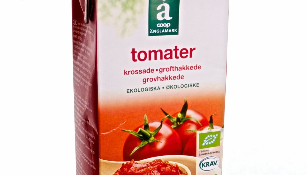 Test av tomater