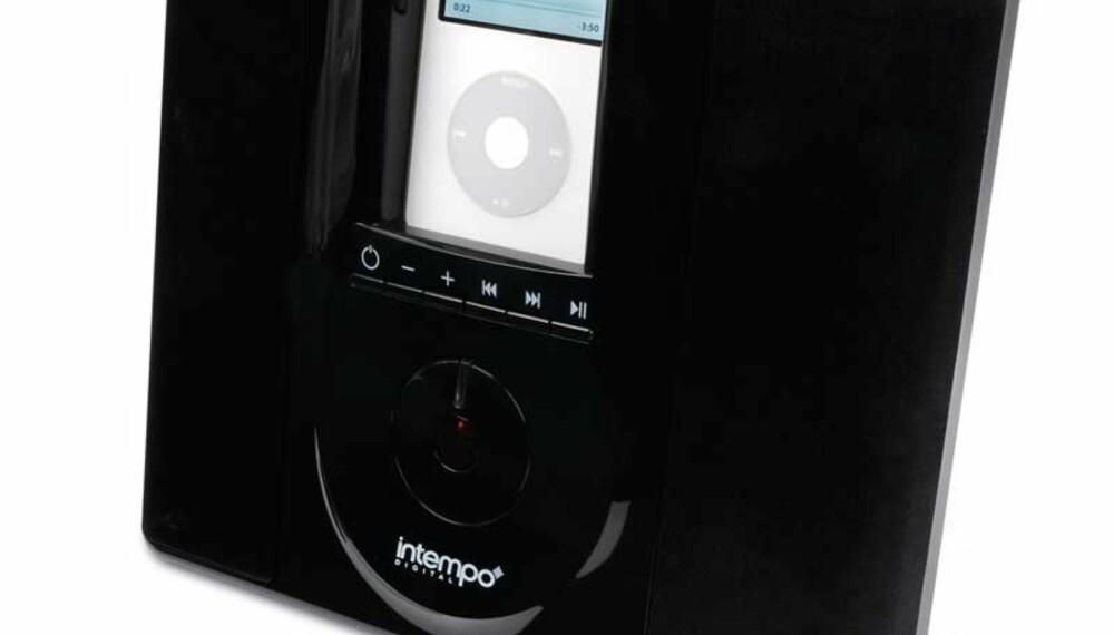 """Hvor pent Intempo IDS-03 er kan sikkert diskuteres, men mangler kanskje en smule """"touch"""" av Apple."""