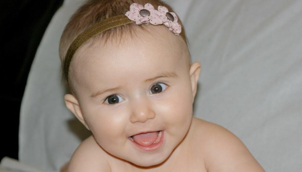 Sara ble kåret til månedens BAM-baby i november.
