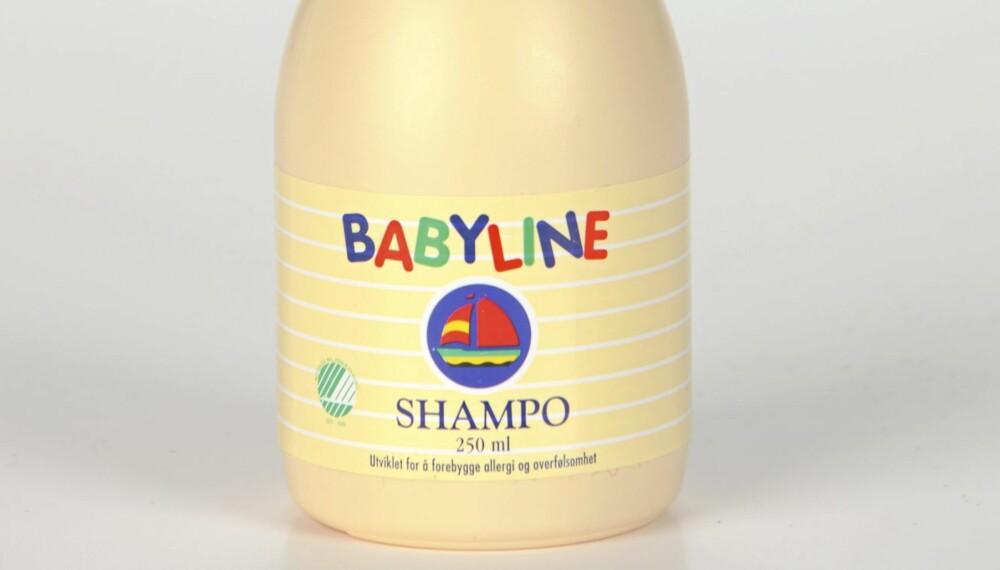 SJAMPO: Babyline Shampo anbefales uten forbehold.