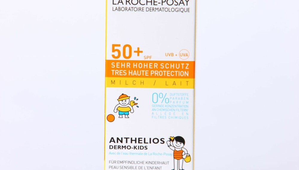 TEST AV SOLKREM: La Roche-Posay Anthelios barn sollotion, faktor 50+