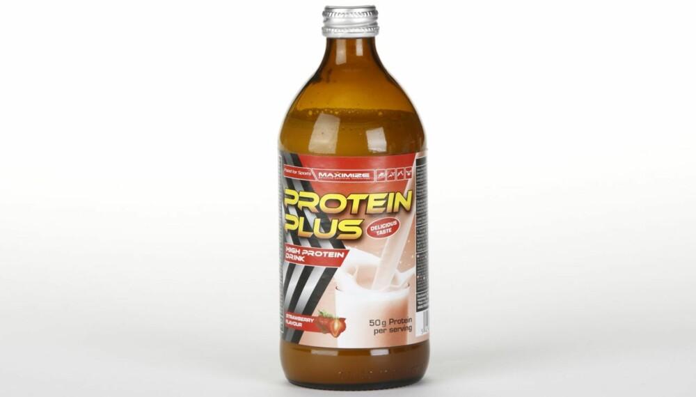 PROTEINDRIKK: Ernæringsfysiologen har evaluert næringsinnholdet i ni proteindrikker for DinKost og ShapeUp.