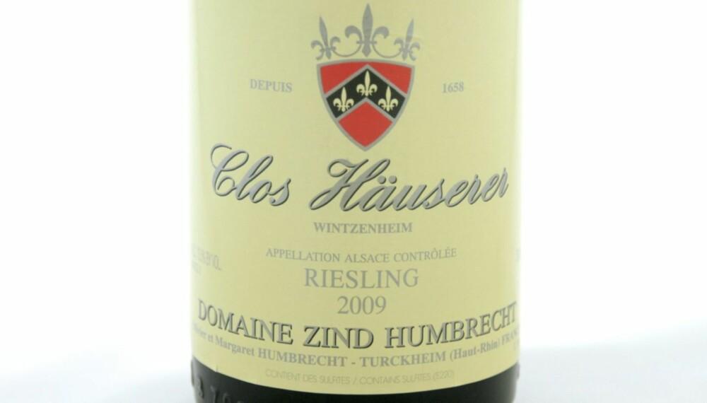 SOMMERFAVORITT: Zind-Humbrecht Riesling Clos Häuserer 2009.