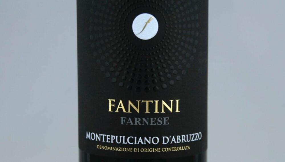 BILLIG VIN: Fantini Farnese Montepulciano d Abruzzo 2013