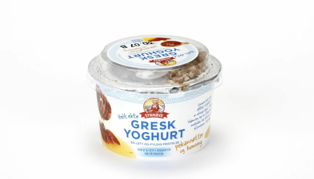 SYNNØVE FINDEN GRESK YOGHURT