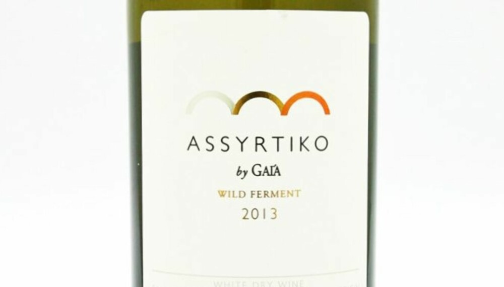 GOD HVITVIN: Assyrtiko by Gaia Wild Ferment 2013.