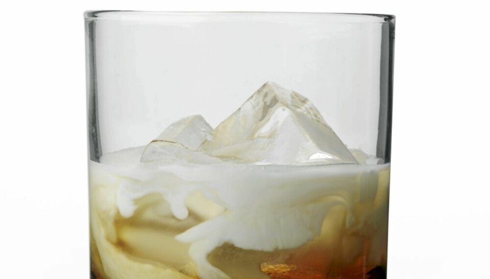 SYNDIG GODT: Vodka, kaffelikør og fløte er ingrediensene i en White Russian.