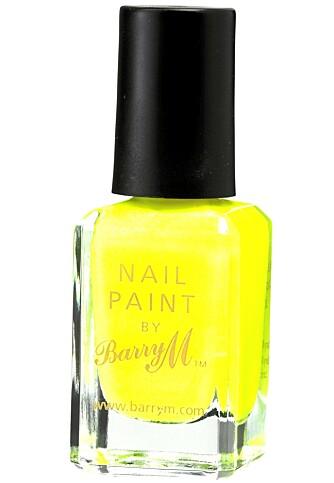 GULT ER KULT: Barry M, Neon Yellow (kr 140)
