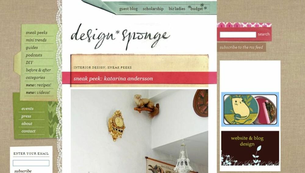 Blogg printscreen