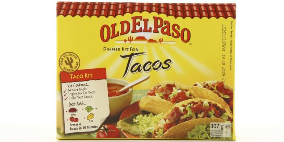 el paso taco kit instructions