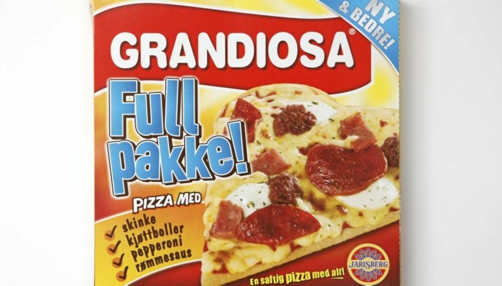 HAKK I HÆL: Grandiosa Full pakke.
