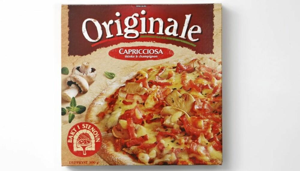 KOMMER GODT UT: Pizza Originale Capricciosa