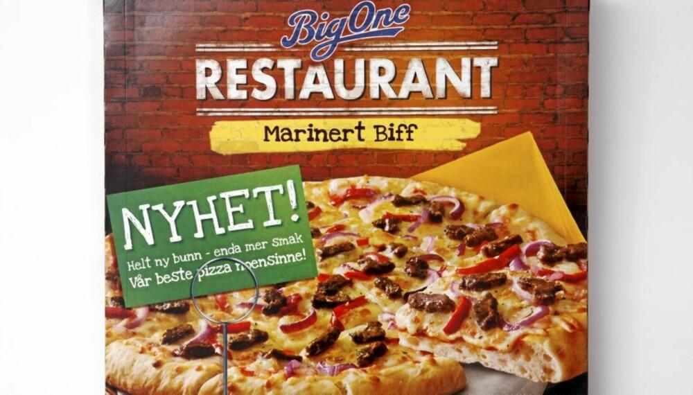 FÅ KARBOHYDRATER: Big One Restaurant marinert biff.