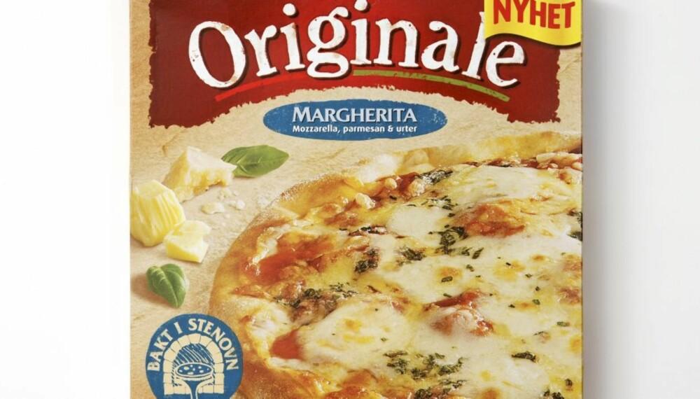 IKKE SPESIELT SUNT: Pizza Originale Margherita.