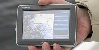 KARTPLOTTER: en GPS-enhet er anbefalt. For mindre båter holder det med en håndholdt enhet.