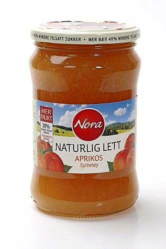 TRYGT VALG: Naturlig lett aprikossyltetøy fra Nora