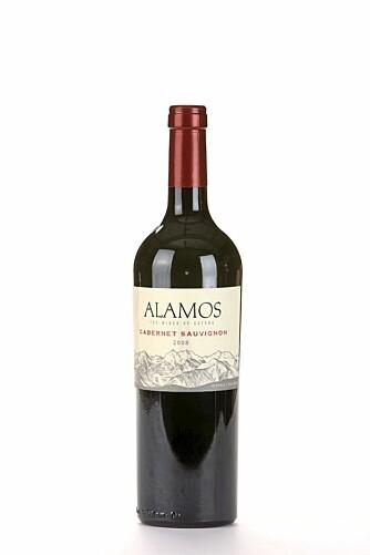 En av favorittene i den rimeligste prisklassen var denne vinen fra Argentina.