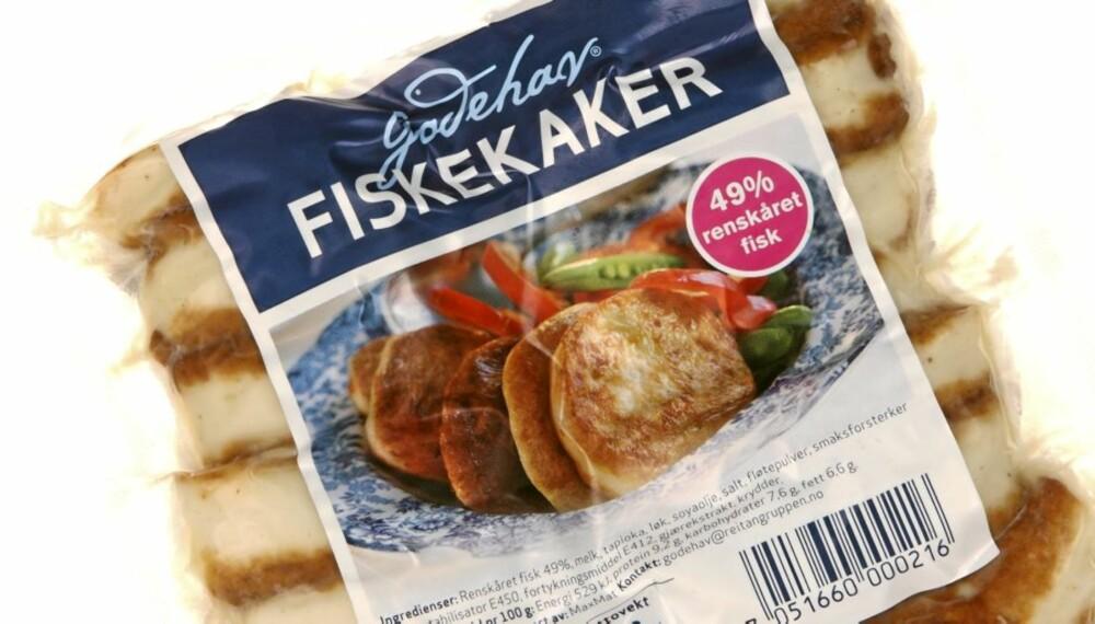 BEST PÅ SMAK: Fiskekakene fra Godehav, Rema 1000 sin billigvariant, er best på smak.
