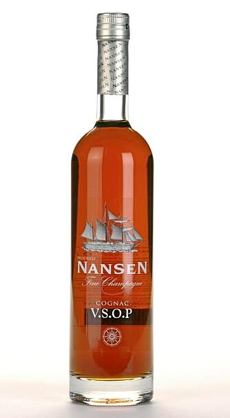 RIK: Nansen V.S.O.P fine Champagne er fyldig, rik og noe søtlig på smak.