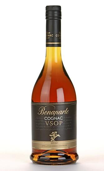 FYLDIG: Bonaparte V.S.O.P er en rik, krydret og fyldig cognac.