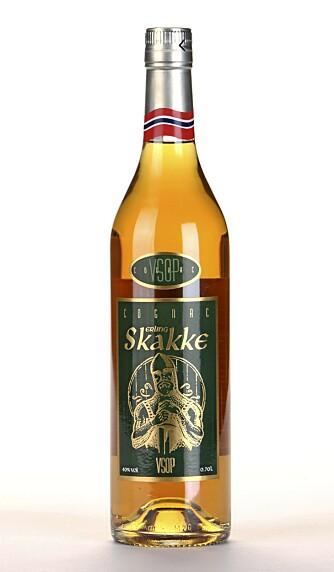 LITE FYLDE: Erling Skakke V.S.O.P er en skarp og syrlig cognac med lite fylde.