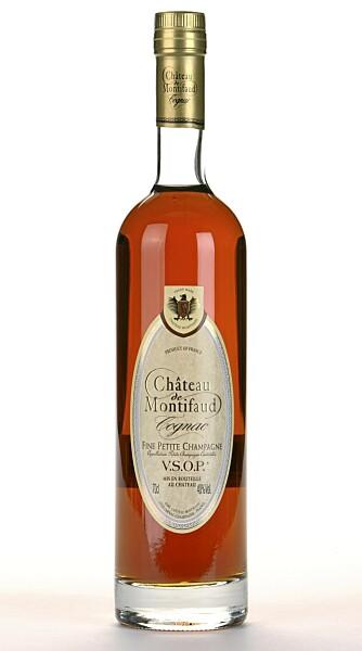 MILD: Ch. de Montifaud V.S.O.P. er en rund og mild cognac.