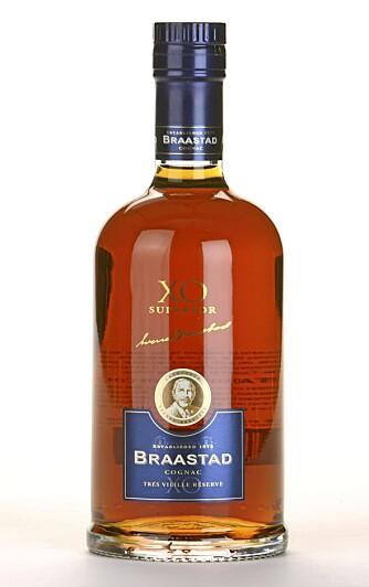 KOMPLEKS: Braastad X.O. superior Très Vieille Rèserve er en rik og kompleks cognac.