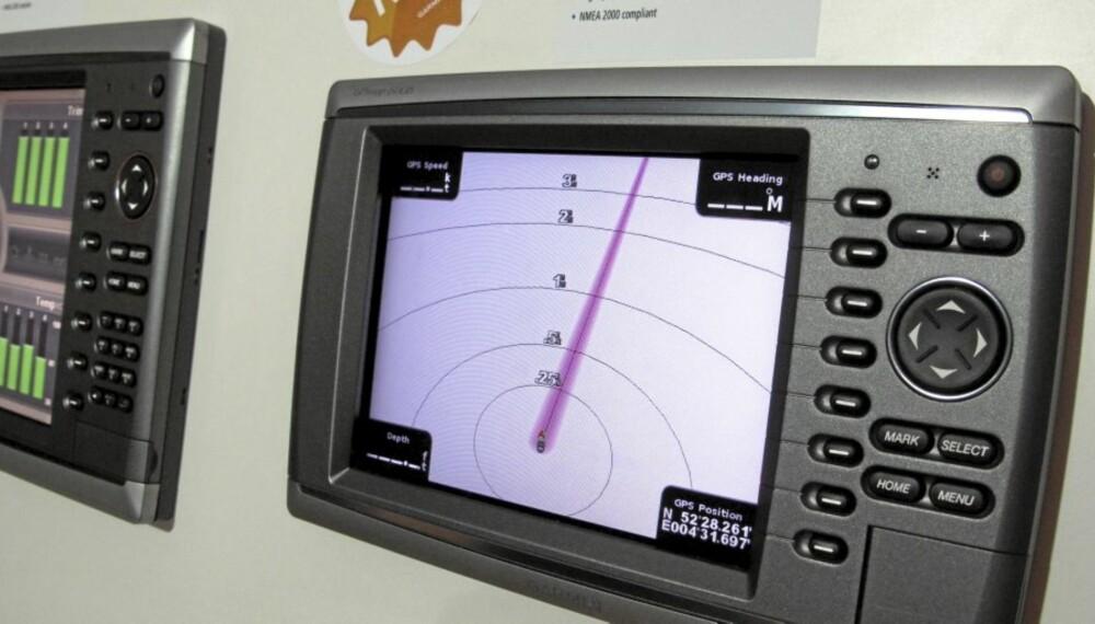 TRYKK: Garmins nye toppmodell med knapper heter GPSMap 6012.